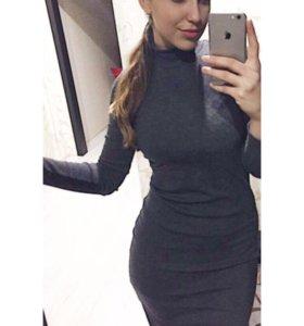 Новое платье-водолазка