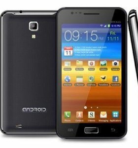 Смартфон на Android Chas I922 duos black 3g note п
