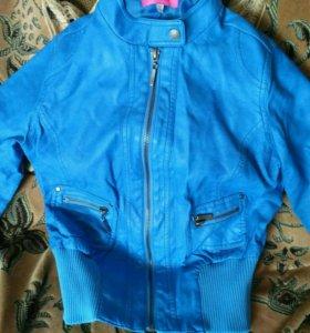 Куртки на девочку 5-7 лет