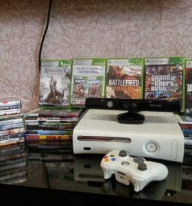 XBOX360, Kinect и 30 игр.