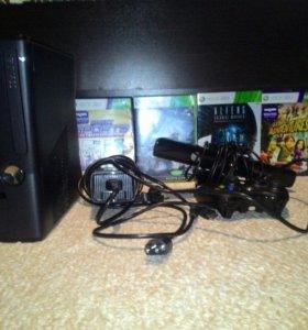 Xbox 360 kinect (250 Gb) + 4 игры
