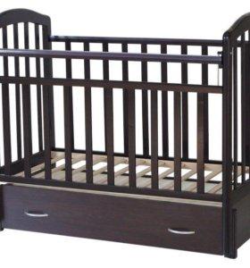 Кроватка-маятник Алита 6 венге