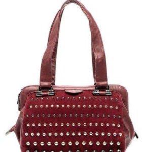 Новая сумка Calipso бордовая