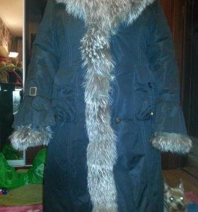 Женское зимнее пальто раз 56.