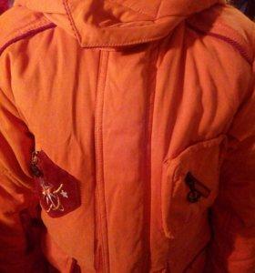 Куртка зимняя 116-122