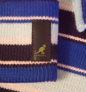 Новые шапка+шарф Kangol