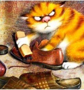 "Картина по номерам на холсте ""Хмурый кот"""