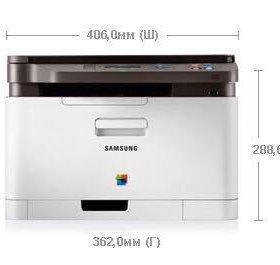 Цветное МФУ Samsung CLX-3305