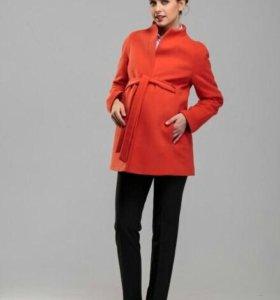 Осенее пальто для беременных