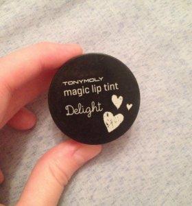 Тинт для губ tony moly magic lip tint