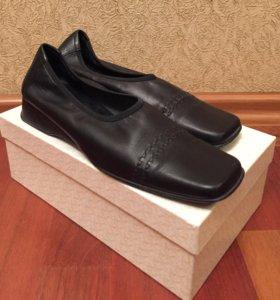 Туфли кожаные р.38