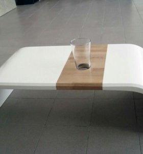 Журнальный стол с искуственного камня