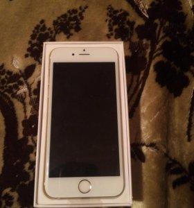 Айфон 6 золото (новый )