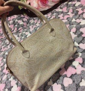 Натуральная сумка Аскент