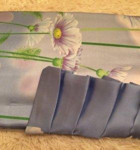 Комплект постельного белья шёлк/сатин для лета