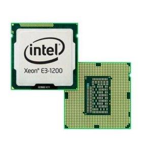 Интел ксеон е3 1240 спели бридж 3300мГц сокет 1155