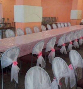 Свадебное украшение зала