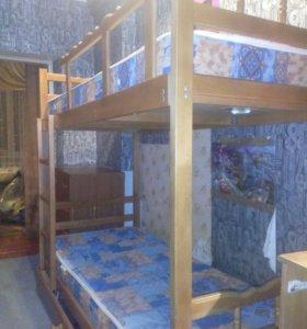 Кровать (двухярусная)