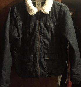 Lee джинсовая куртка
