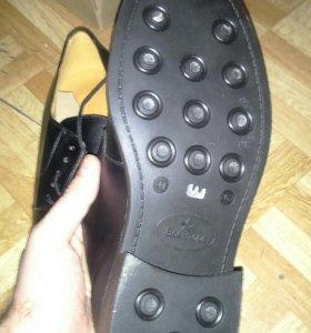 Ботинки на шнурках матовые вмф