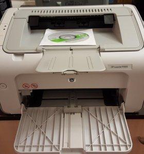 Лазерный принтер HP LaserJet P1005