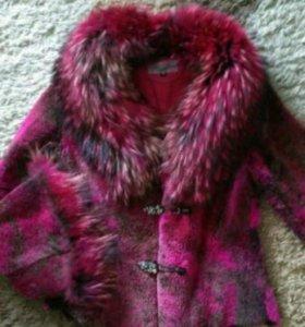 Шубка-куртка на осень-теплую зиму