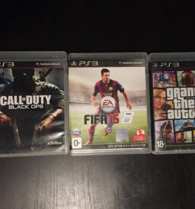 GTA5 FIFA15 CALL OF DUTY BLACK OPS PS3