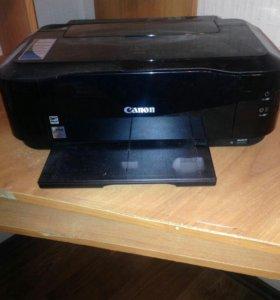Принтер Canon pixma ip4700 необслуженный