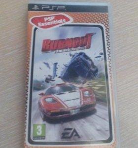 Игра для PSP Burnout Legends