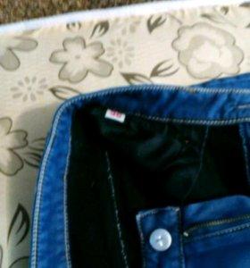 Продаю зимние джинсы размер 36,рост 160