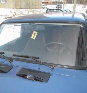 Ваз 2107 лобовое стекло без трещин