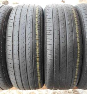 Шины б/у лето Pirelli P7 Cinturato 225/55 R-17, 4ш