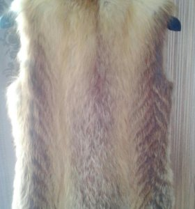 Желетка меховая (лиса)