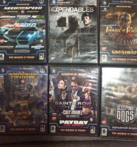 ДВД диски игры 16шт.(цена за все)