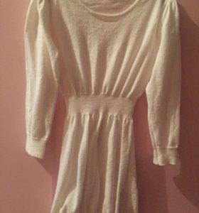Продам белую тунику( платье)