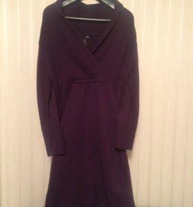 Платье фиолетовое H&M