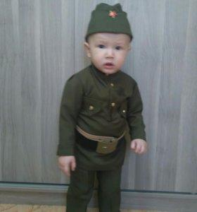 Детский военный костюм