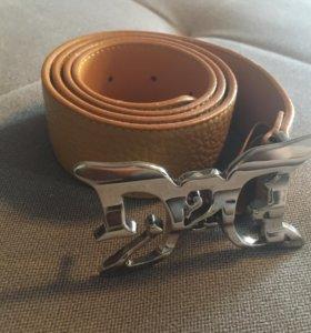 Кожаный ремень D&G