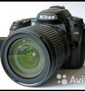 Nikon D90 Kit 18-105мм+сумка