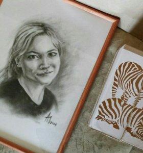 Портреты по фотографии