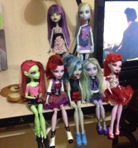 Оригинальные куклы монстар хай