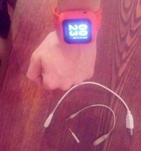 Цифровые спортивные часы-плеер QUMO