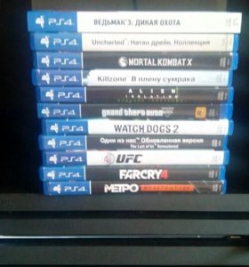 PS4 Игры PlayStation4