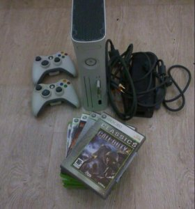 Xbox 360 + игры