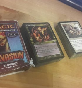 Magic the gathering invasion blowout + heavy duty