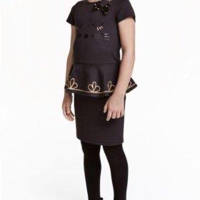 Новое детское платье hm