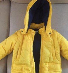 Куртка детская, пуховик
