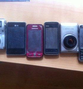 Телефоны на запчасти