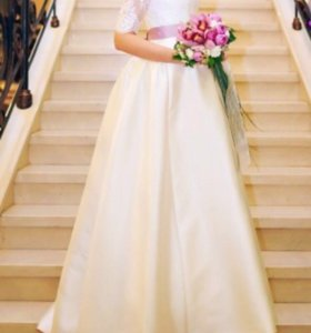 Дизайнерское свадебное платье шэр (kookla)