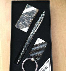 Подарочный набор: ручка, зажигалка, брелок